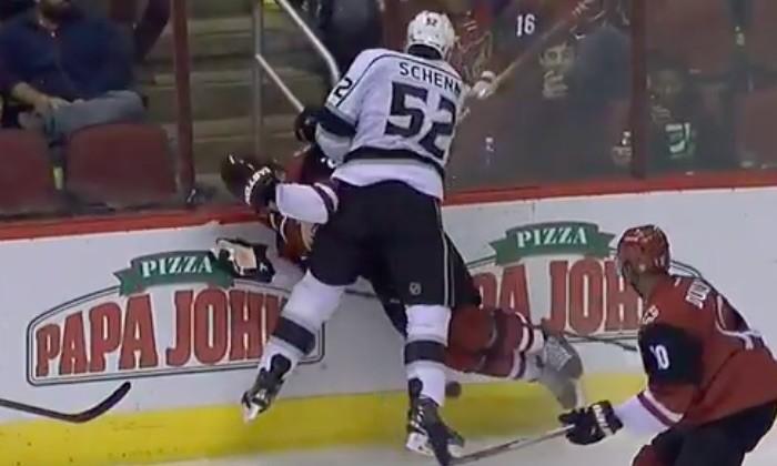Lean er som en ishockeybane...og man skal mærke, at man rammer banderne!